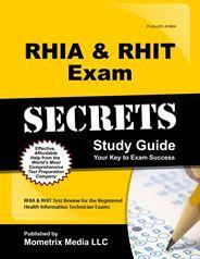 RHIA & RHIT Exam Secrets Study Guide