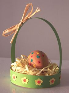 AAMIAC bricolage panier de Pâques