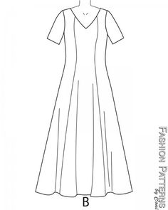 B6146 - Formal Gown