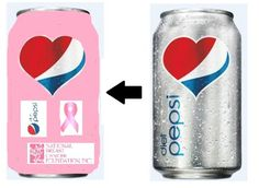 pink can creative try pepsi can Diet Pepsi, Go Pink, Breast Cancer, Charity, Canning, Drinks, Creative, Drinking