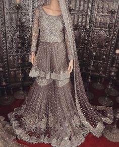 Ideas for dress fancy pakistani bridal collection Pakistani Wedding Outfits, Pakistani Couture, Pakistani Wedding Dresses, Bridal Outfits, Indian Dresses, Indian Outfits, Indian Clothes, Bridal Sarees, Desi Clothes