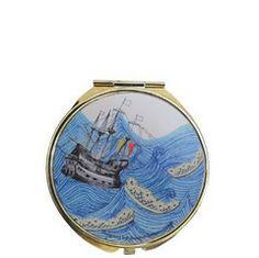 Disaster Designs | Disaster Designs Sea Breeze Compact Mirror – ScaryCanary Disaster Designs, Compact Mirror, Breeze, Sea, Accessories, The Ocean, Ocean, Jewelry Accessories