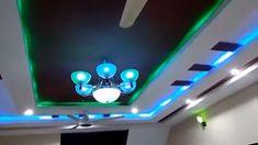 Best false ceiling & LED light colour combination effect – Ceiling 2020 Down Ceiling Design, Simple False Ceiling Design, Gypsum Ceiling Design, House Ceiling Design, Ceiling Design Living Room, Ceiling Decor, Fall Celling Design, Fall Ceiling Designs Bedroom, Bedroom False Ceiling Design