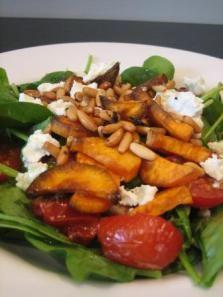 sweet potato and pinenut salad 2
