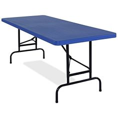 National Public Seating 72 in Rectangle Blow Molded Folding Banquet Table *** Be sure to check out this awesome product.Note:It is affiliate link to Amazon.