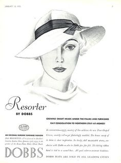 Dobbs (Millinery) 1935 Hats