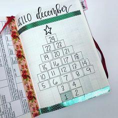 Is it seriously December?! #bulletjournal #bulletjournaljunkies #bujo #bujojunkies #handlettering #brushlettering