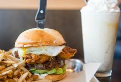 Where to Get the 8 Best Burgers in Washington (Outside of Seattle) Durkin's Liquor Bar