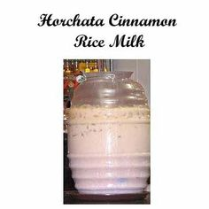 Mexican Drinks, Mexican Dishes, Milk Recipes, Mexican Food Recipes, How To Make Horchata, Horchata Recipe, Cinnamon Water, Milk Ingredients, Blended Drinks