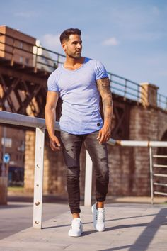 Upgrade your style: Blogger Raemon Alba wears Leif Nelson ...