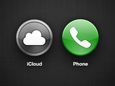 Circle-ios-icons-4, if the iphone5 or iOS6 contain some kind of wit, just like this, not hard, it will be more impressive :-(