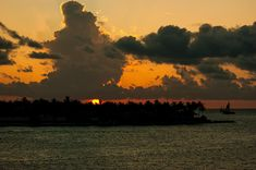 Sailing The Keys At Sunset Photograph by Maria Keady