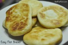http://beafunmum.com/2014/01/easy-flat-bread-recipe/
