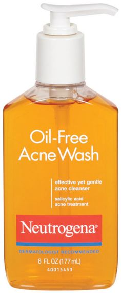 Oil-Free Acne Wash by Neutrogena is the dermatologist recommended acne-fighting cleanser. This oil-free formula gently cleanses deep down into pores for clear skin. Acne Skin, Acne Prone Skin, Homemade Skin Care, Diy Skin Care, Emergency Room, Neutrogena Oil, Natural Oils For Skin, Salicylic Acid Acne, Home Remedies For Acne