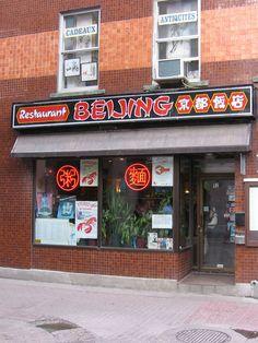 Beijing Rue, Beijing, Montreal, Restaurants, Broadway Shows, Brunch, Restaurant