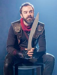 Hadley Fraser. Coriolanus.  (Source: Official H.Fraser's FB  fan page)