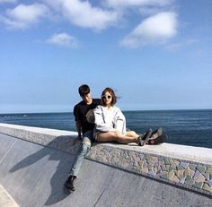 blue, asian, and couple image                                                                                                                                                     More