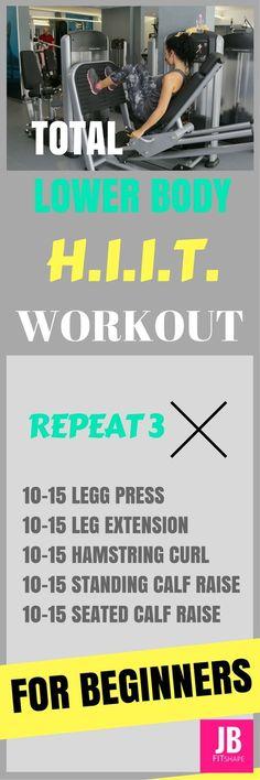 Lower Body Exercises For Beginning Bodybuilders Lower Body Exercises | Beginners | HIIT Workout | Burn Fat | Fitness https://jbfitshape.wordpress.com/2017/07/05/lower-body-exercises-for-beginning-bodybuilders/