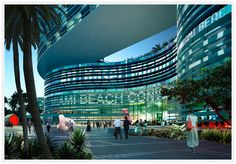 Miami Convention Center, USA.