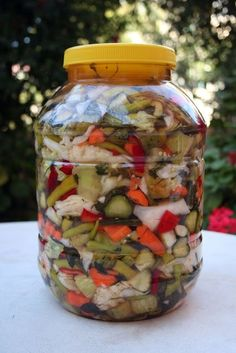 Chopping Pickle Recipe with Great Taste - Chopping Pickle Recipe with Great Taste Chutney, Turkish Kitchen, Refrigerator Pickles, Pickle Jars, Carne Picada, Cooking Recipes, Healthy Recipes, Arabic Food, Turkish Recipes