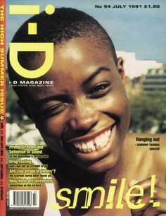 i - D july 1991 - Lorraine Pascale in 'The High Summer issue'