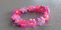 bracelet beaded flowers soldering