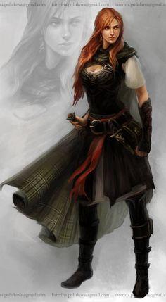 Resultado de imagem para warrior female d&d
