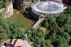 Top 10 Most Beautiful Buildings in The World by 2011:    Opera de Arame, Curitiba, Parama, Brazil
