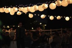pom poms and paper lanterns photos by Jessica Janae Photography