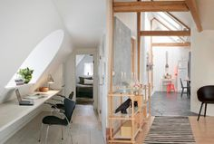 Attic Rooms and sloping walls