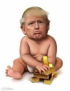 Las andanzas de Baby Trump Cae7eec25e9f0514594cf6924c443ae0--donald-trump-donald-oconnor