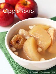 apple soup for cough