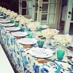 Bridal Shower table