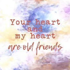 >> JOUW ❤ EN MIJN ❤  ZIJN OUDE VRIENDEN << - Zielsverwanten - te koop bij Koolmade Old Friends, My Heart, Movie Posters, Film Poster, Billboard, Film Posters