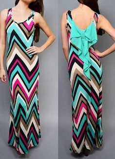 58dd8026f3d 8 Best Chevron Long Maxi Dress images