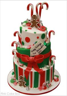 Are you making Christmas cakes? Are you stuck for ideas? Look no further! I've got a wonderful selection of Christmas Cakes I've sourced from around the web