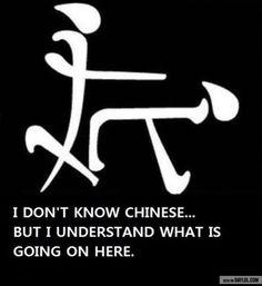 I don't speak Chinese