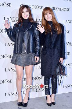 Secret's Jun Hyosung and Song Jieun Attend Lancome's GRANDIOSE Mascara Launching Event - Nov 25, 2014 [PHOTOS] http://www.kpopstarz.com/articles/143316/20141127/secrets-jun-hyosung-song-jieun-attend-lancomes-grandiose-mascara-launching.htm