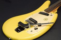 YAMAHA 1968 SG2-C Yellow Made in JAPAN Used Free shipping Express mail service…
