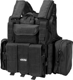 Barska Loaded Gear VX-300 Tactical Vest Black