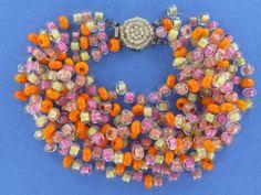 Outstanding Cheerful Colorful Langani Bib Necklace | Forgotten Romance