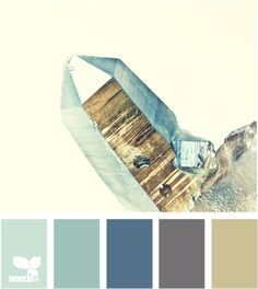 mineral metallic- these tones would look perfect with the Annapolis Harbor pictures  my mom printed