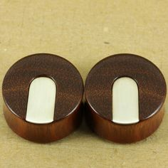 """Bloodwood w/ Sterling silver strip inlay 26mm - 1"""""""