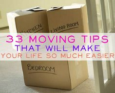 33 Brilliant Moving Tips - Across Town or Hundreds of Miles Away | The Homestead Survival