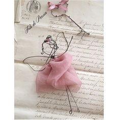 Cadeau de naissance  wire fairy