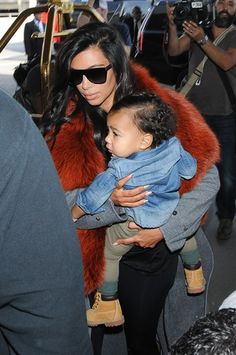 Kim Kardashian and Kanye West FINALLY Dress North in Pink — Plus 28 More  Looks in Her Closet!