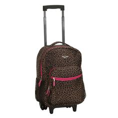 Rockland 17-Inch Wheeled Backpack,