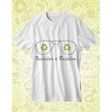 Camisa AMA TERRA Branca Reciclar é Fashion - ATA014