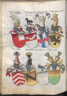 Grünenberg, Konrad: Das Wappenbuch Conrads von Grünenberg, Ritters und Bürgers zu Constanz um 1480 Cgm 145 Folio 251