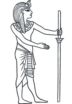 Egyptian Kings, Egyptian Art, Coloring Books, Coloring Pages, Egypt Crafts, Egypt Tattoo, Ancient Egypt Art, Egyptian Beauty, Dot Art Painting
